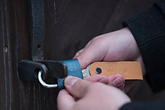 Kľúčenky - Klíčenka α & Ω Natural - 9773858_