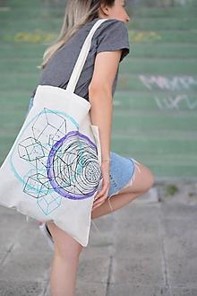 Veľké tašky - Bavlnená taška LOOP - 9776111_