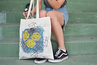 Veľké tašky - YELLOW HEART - 9776141_