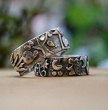 Prstene - Obrúčky s príbehom - 9775331_