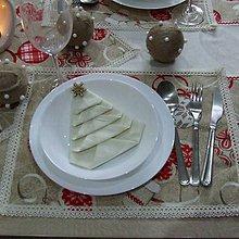 Úžitkový textil - Severské Vianoce - prestieranie 30x40 - 9775791_