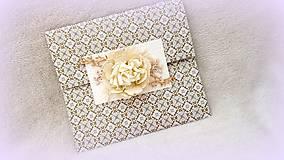 Papiernictvo - Damaškový kvet - 9774723_