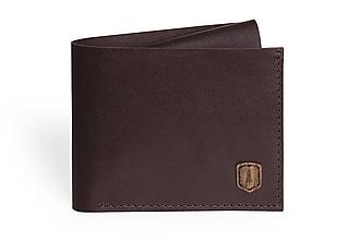 Peňaženky - Kožená peňaženka Brunn Coins Wallet - 9777024_