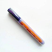 Farby-laky - Fixka na tmavý TEXTIL, Darwi opak - 6 ml, rôzne farby (fialová) - 9777093_
