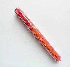 Farby-laky - Fixka na tmavý TEXTIL, Darwi opak - 6 ml, rôzne farby (červená) - 9777133_