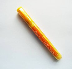 Farby-laky - Fixka na tmavý TEXTIL, Darwi opak - 6 ml, rôzne farby (žltá) - 9777135_