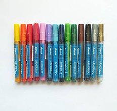 Farby-laky - Fixka na PORCELÁN bez vypaľovania, Darwi, rôzne farby - 9777573_