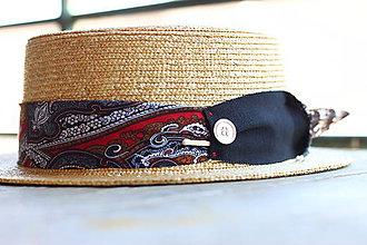 Čiapky - Letný slamený klobúk FREE unisex - 9776386_