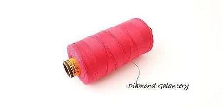 Galantéria - Polyesterová niť Amann -ASPO 120 - tmavo ružová - 9778860_