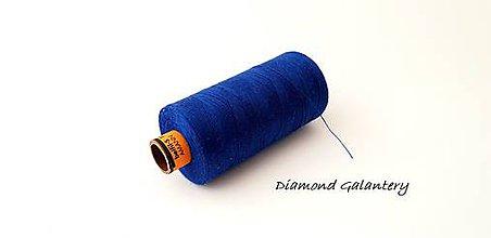 Galantéria - Polyesterová niť Amann -ASPO 120 - kráľovská modrá - 9778866_
