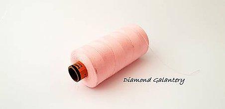 Galantéria - Polyesterová niť Amann -ASPO 120 - ružová svetlá - 9778869_