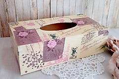 Krabičky - krabica na vreckovky - 9776764_