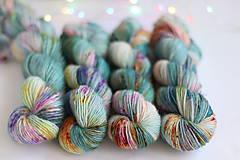 Galantéria - CACTUS FLOWER - ručne farbená vlna - 9776429_