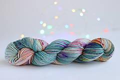 Galantéria - CACTUS FLOWER - ručne farbená vlna - 9776436_