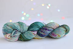 Galantéria - CACTUS FLOWER - ručne farbená vlna - 9776438_