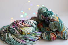 Galantéria - CACTUS FLOWER - ručne farbená vlna - 9776472_