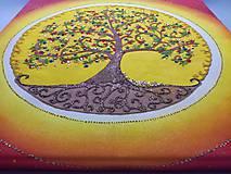 Obrazy - Strom života (piesková mandala) - 9777483_