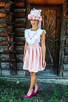 Šaty - ...utkané z jahodovej peny... - 9776374_