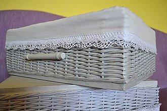 Košíky - Šuplíky VIERKA /ks (.38 cm x 31 cm, v - 15 cm) - 9776634_