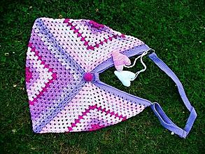 Veľké tašky - Fialové leto, taška - 9777986_