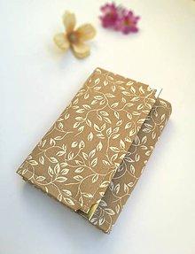 Peňaženky - Peňaženka- biele listy - 9780818_