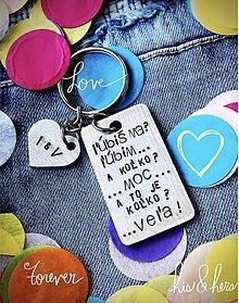 Kľúčenky - ľúbiš ma? - 9780384_