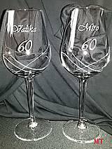 Nádoby - Gravírovaný pohár k jubileu - 9781204_