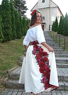 Sukne - Šípková Ruženka dlhá - 9780159_