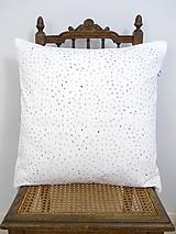 Úžitkový textil - INDIGO akvarelová obliečka - Ryža - 9740852_