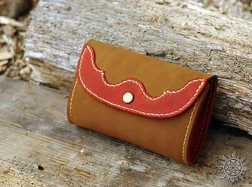 Malá kožená peňaženka III.