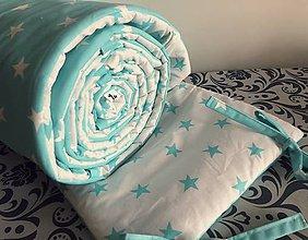 Textil - Mantinel tenký - 360x30 (Tyrkysová) - 9781299_