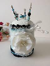 Dekorácie - Špendlíkovníček modráčik II.- handmade dekorácia - 9780899_