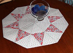 Úžitkový textil - Obrúsky pestrofarebné - 9780655_