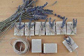Darčeky pre svadobčanov - Mini mydlá - 9779921_