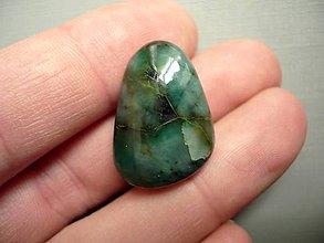 Minerály - Troml. kámen – smaragd 25 mm, č.5w - 9781099_