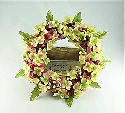 Dekorácie - Kvety hortenzie - 9779982_