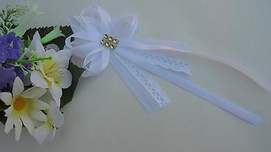 Pierka - Svadobné pierko pre rodičov,biela klasika - 9781072_
