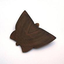Odznaky/Brošne - Orechový motýľ - 9779403_