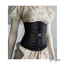 Šaty - Gotický steampunk korzet - 9784028_