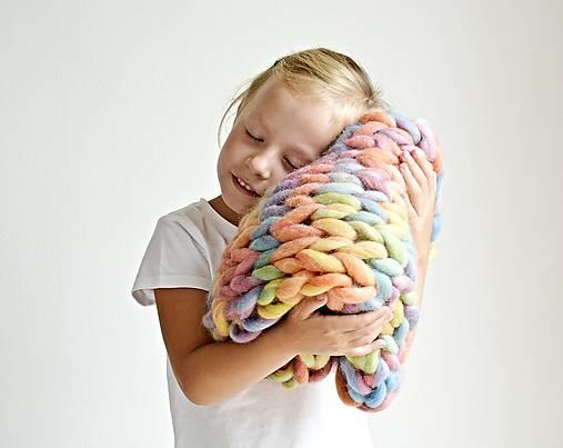 Úžitkový textil - Chunky detská deka