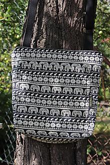 Iné tašky - Crossbody Černí sloni - 9782820_