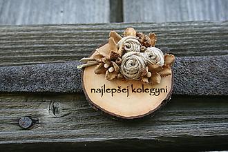 Magnetky - magnetka drevená-3 - 9781775_
