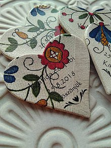 Darčeky pre svadobčanov - folklórne svadobné magnetky - 9781682_