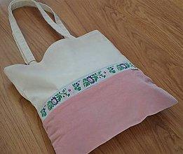 Veľké tašky - Taška folk ružová - 9781797_