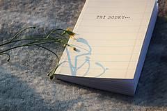 Knihy - TRI BODKY ... - malá kniha o citoch - 9781626_