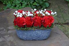 Dekorácie - Červené ruže - 9783587_