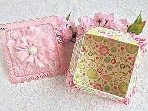 Krabičky - Darček pre darček - Origami krabička - 9783078_