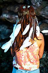 Ozdoby do vlasov - Festivalová čelenka s kameňmi - 9783667_