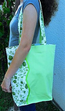 Nákupné tašky - bavlnená taška - 9783968_