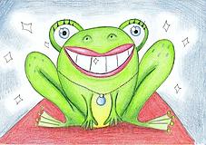 Kresby - Žaba prominentka - 9781769_